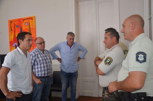 El Intendente gestiona la apertura de una Dirección de Delitos Rurales en Campana