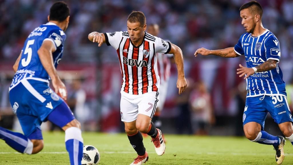 River Plate y Godoy Cruz igualaron 2 a 2