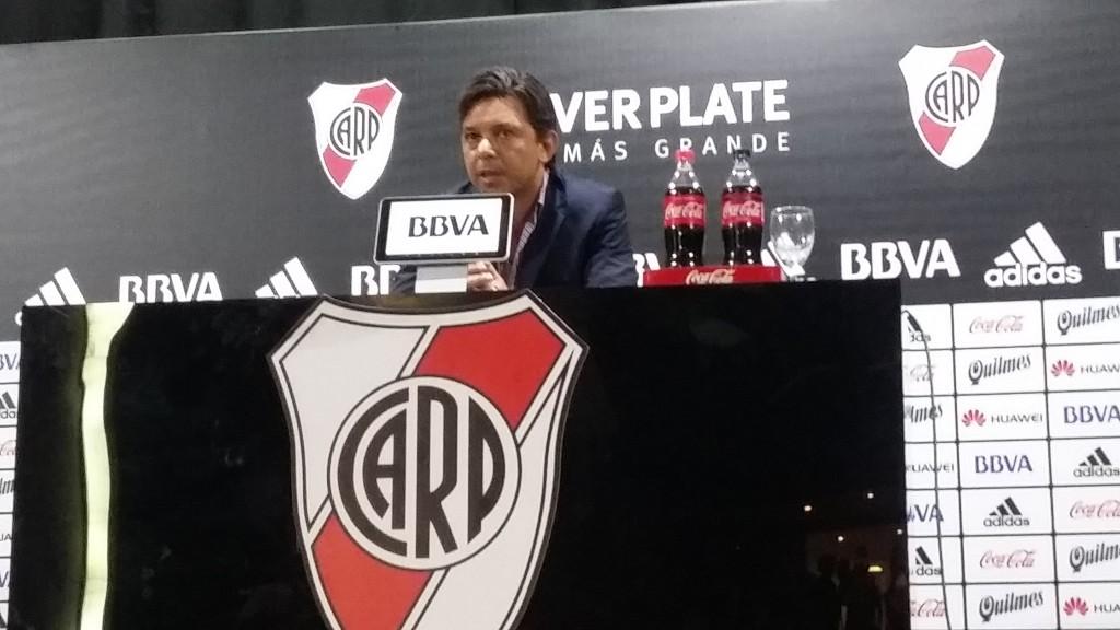 Marcelo Gallardo: Quiero creer que no hay nada raro