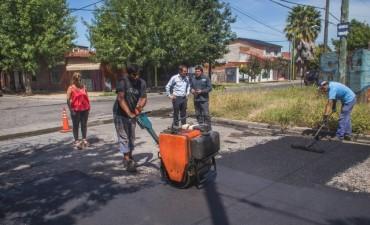 El Municipio trabaja en el mantenimiento de las calles del radio céntrico