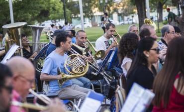 Este jueves la Banda Municipal ensayará en el Parque Urbano