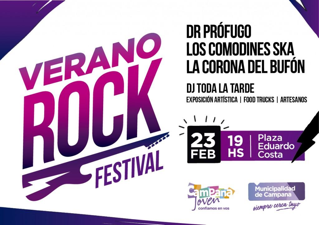 A puro rock, la familia podrá disfrutar de espectáculos gratuitos este fin de semana