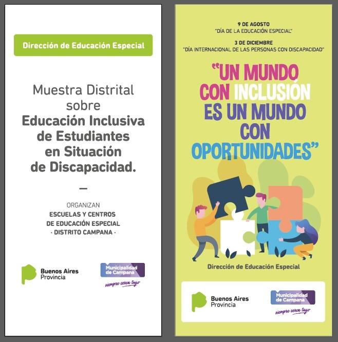 Se realizó una Muestra Distrital sobre Educación Inclusiva