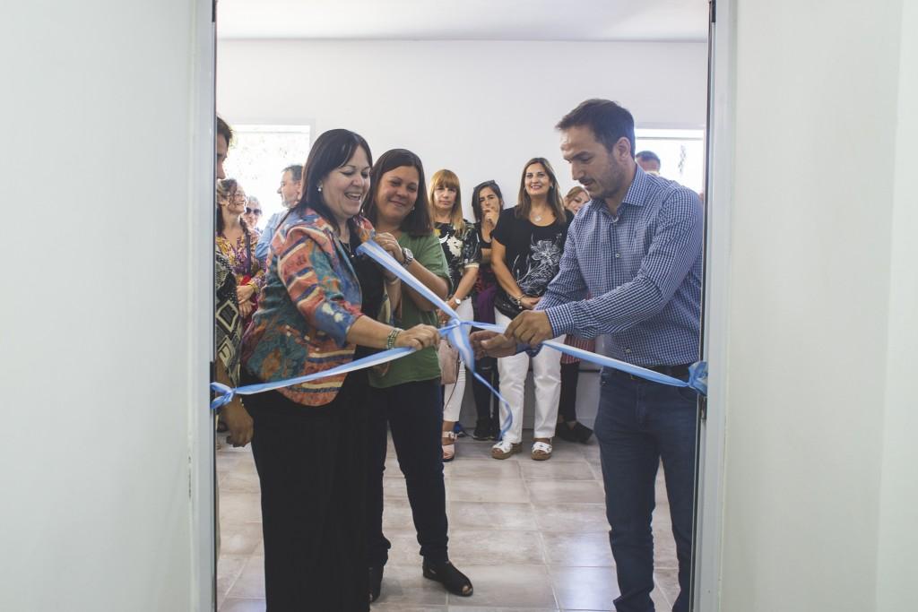 El Intendente inauguró las nuevas instalaciones de la Jefatura Distrital y sede de inspectores