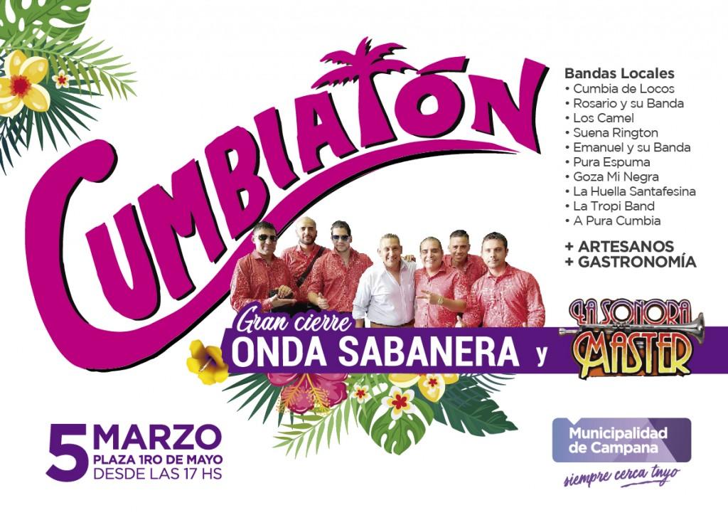Cumbiatón: La Sonora Máster y Onda Sabanera tocarán este martes en la Plaza 1º de Mayo