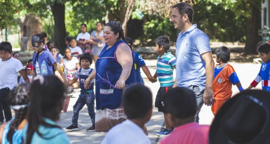 Escuelas Abiertas de Verano: Abella participó de un festejo en Río Luján