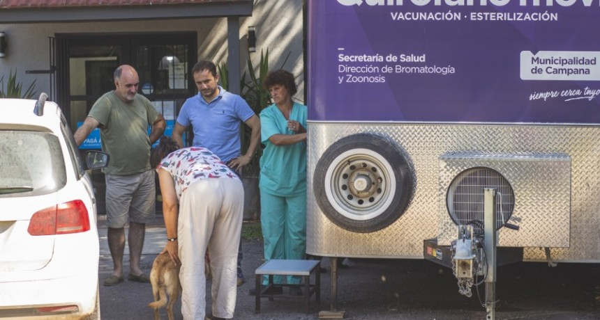 En un nuevo operativo de castraciones, el quirófano móvil visitará Los Pioneros