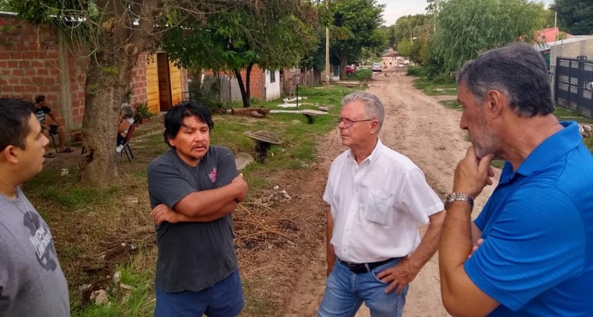 """Rubén Romano: """"Para el Municipio, los vecinos de Otamendi son invisibles"""""""