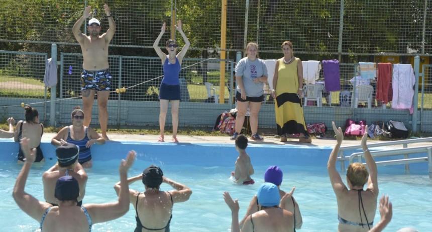 Adultos y Jóvenes disfrutaron del último día de la Colonia Municipal de Verano