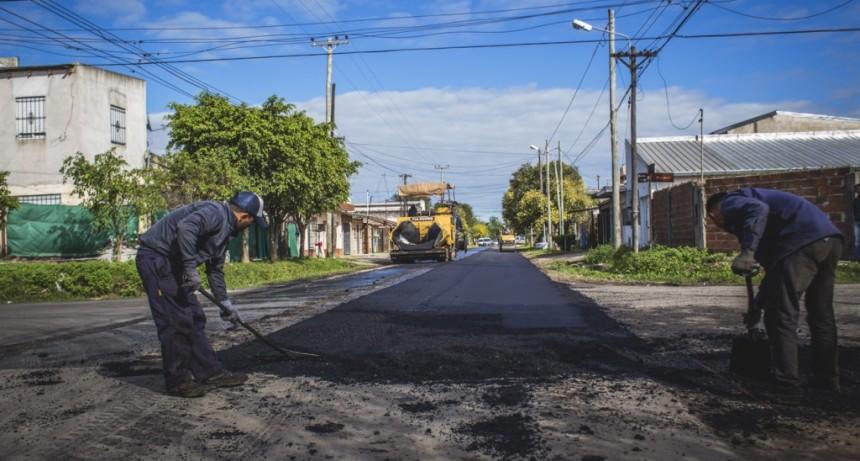 El Municipio ejecutará un importante plan para reasfaltar las calles del barrio Lubo