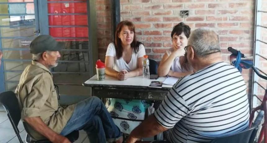 Adultos mayores de San Cayetano se reunieron en el CIC