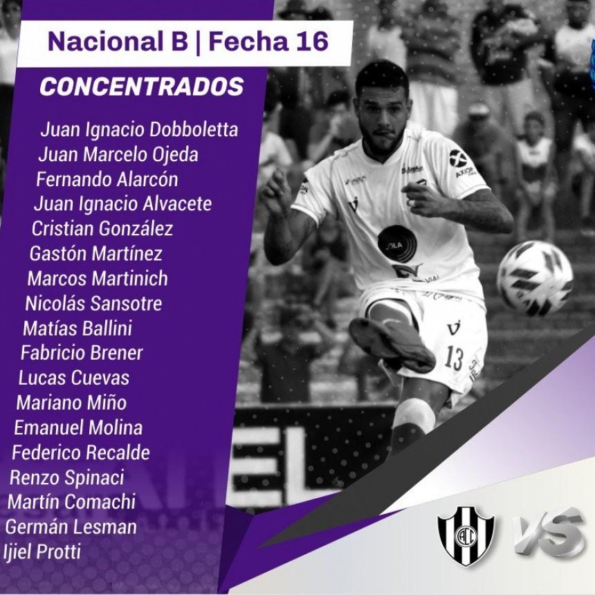 Villa Dálmine juega esta noche en Santiago del Estero