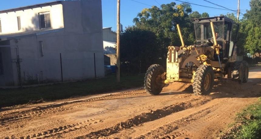 El Municipio comenzó realizar trabajos de mantenimiento integral en Los Pioneros
