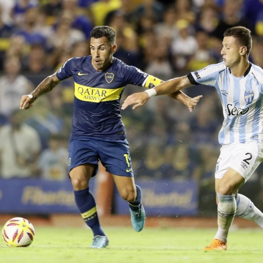 Atlético Tucumán sorprendió a Boca Juniors