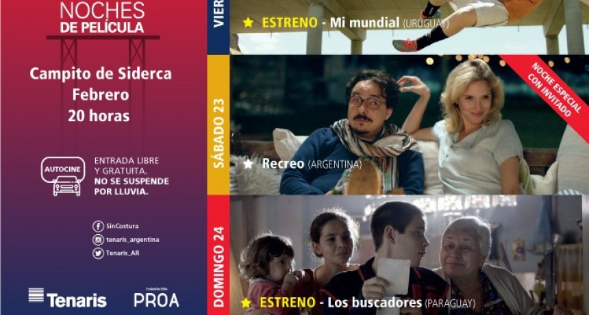 """La película """"Mi Mundial"""" abre el Ciclo de Cine Latinoamericano de Tenaris"""