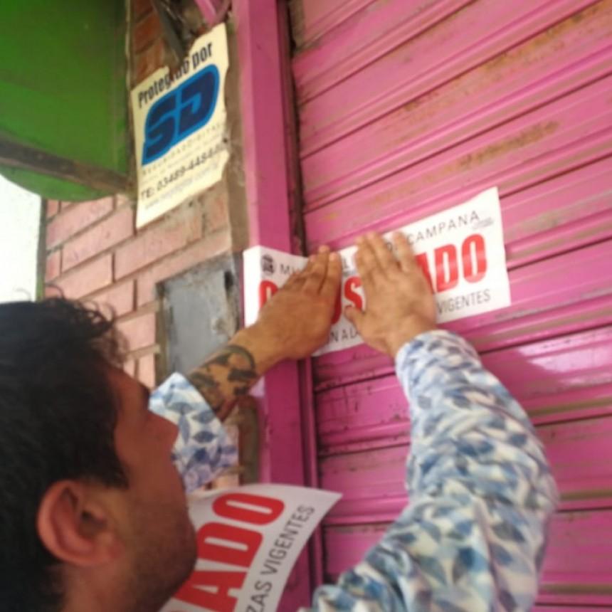 Clausuran un mercado chino por comida en mal estado