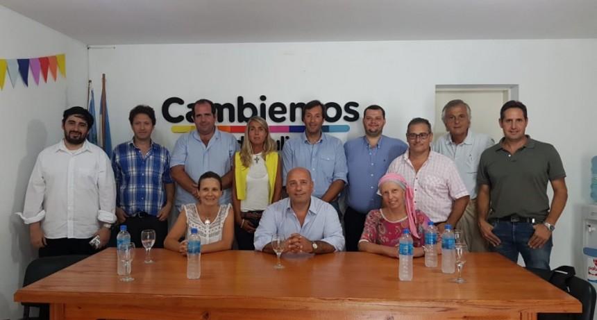 El presidente de la Coalición Cívica Campana recorrió la 4° sección electoral