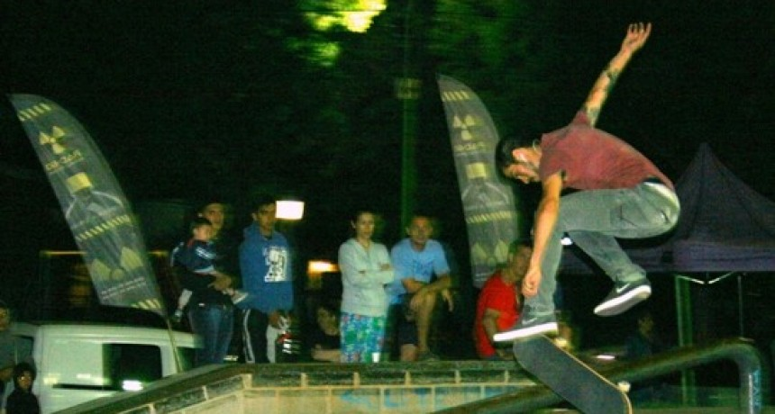 Se disputó el cuarto Campeonato Municipal de Skate Campana
