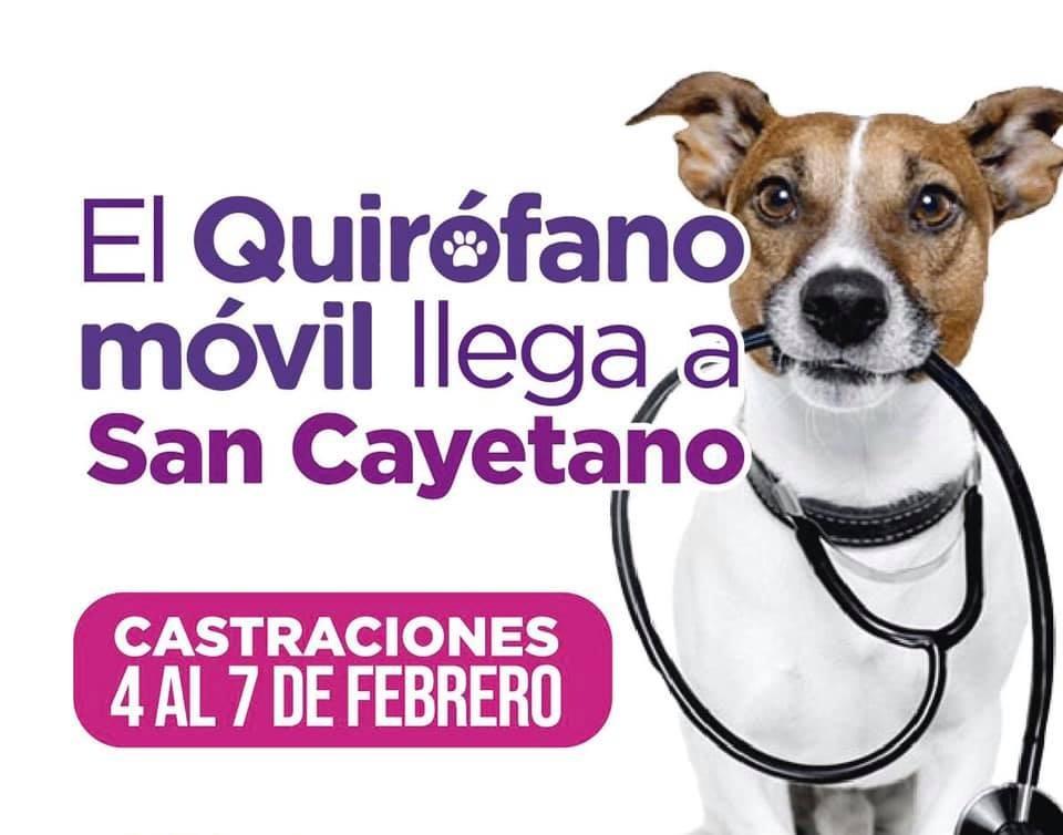 El quirófano móvil visitará San Cayetano la semana próxima
