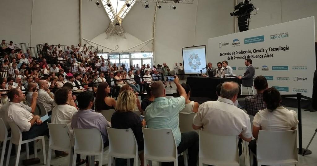 Campana dijo presente en el Encuentro Provincial de la Producción, Ciencia y Tecnología