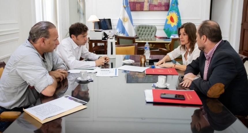 Kicillof recibió a Frederic para avanzar en la coordinación de políticas de seguridad