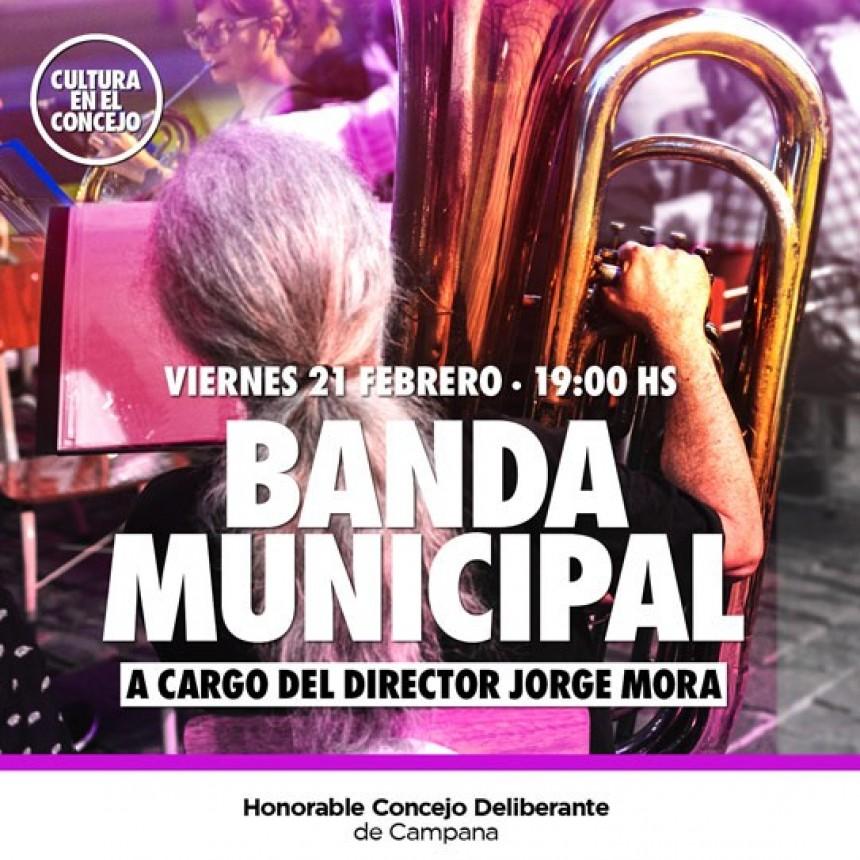 """""""Cultura en el Concejo"""": la Banda Municipal estará a cargo del segundo evento"""