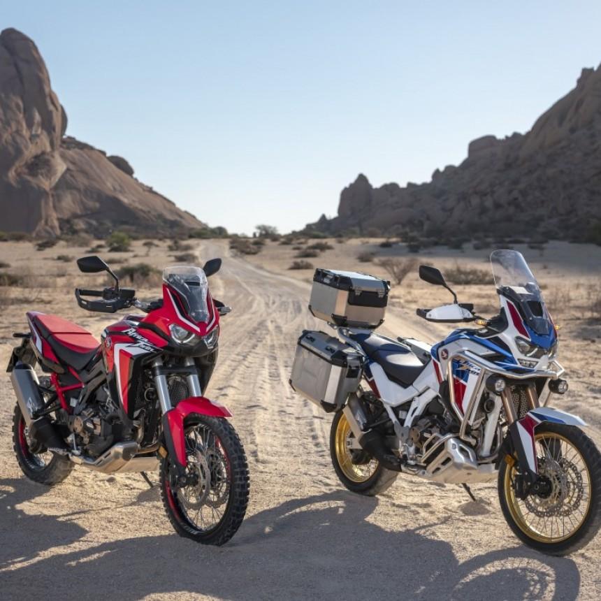 HONDA MOTOR DE ARGENTINA LANZA LA CRF 1100L AFRICA TWIN   Y LA CRF 1100L AFRICA TWIN ADVENTURE SPORTS