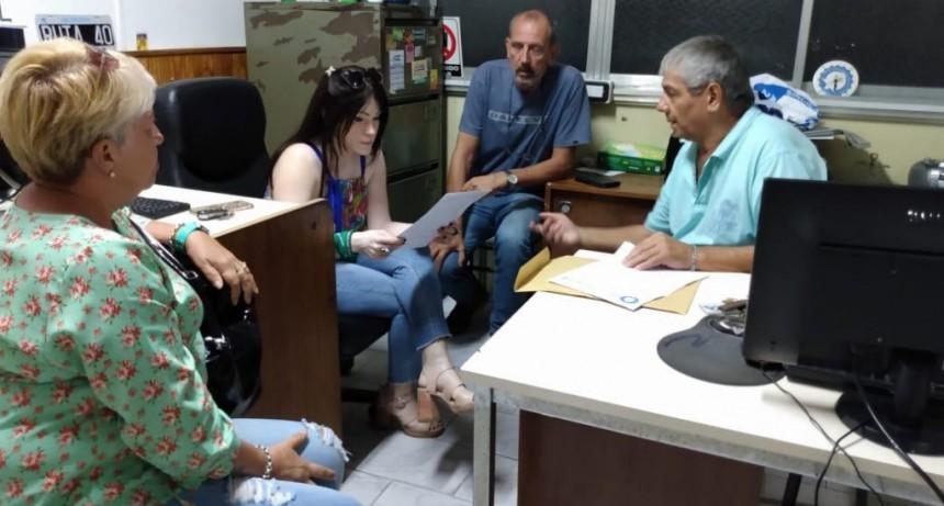 La Diputada Soledad Alonso se reunió con Carlos Barrichi.