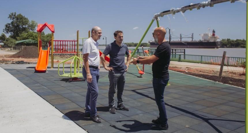 Nueva Costanera: avanzan las obras y piden a los vecinos colaborar con su cuidado