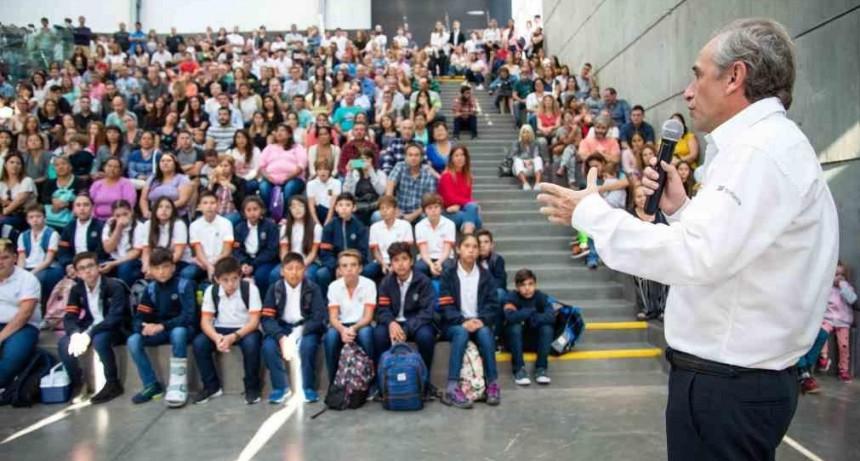 La Escuela Técnica Roberto Rocca inició el ciclo lectivo 2020