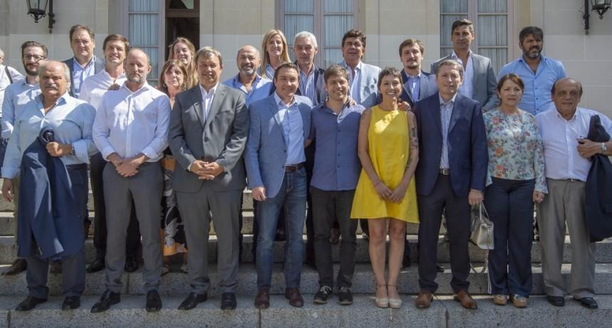 Kicillof se reunió con intendentes del Frente de Todos