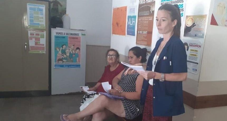 Dengue: se brindó una charla informativa en el barrio Otamendi