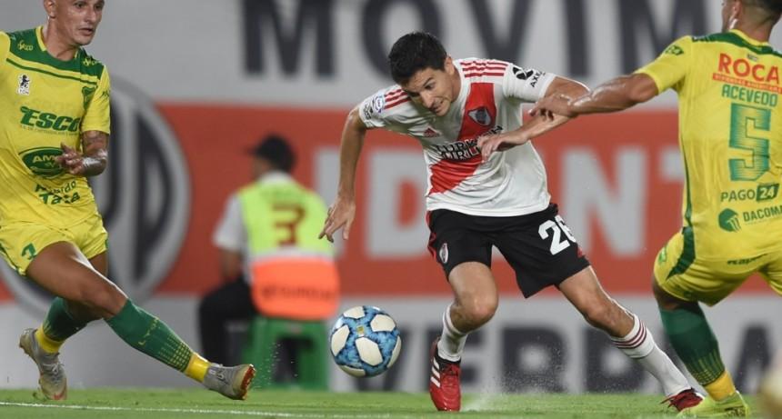 River Plate no pudo con Defensa y Justicia y empató 1 a 1