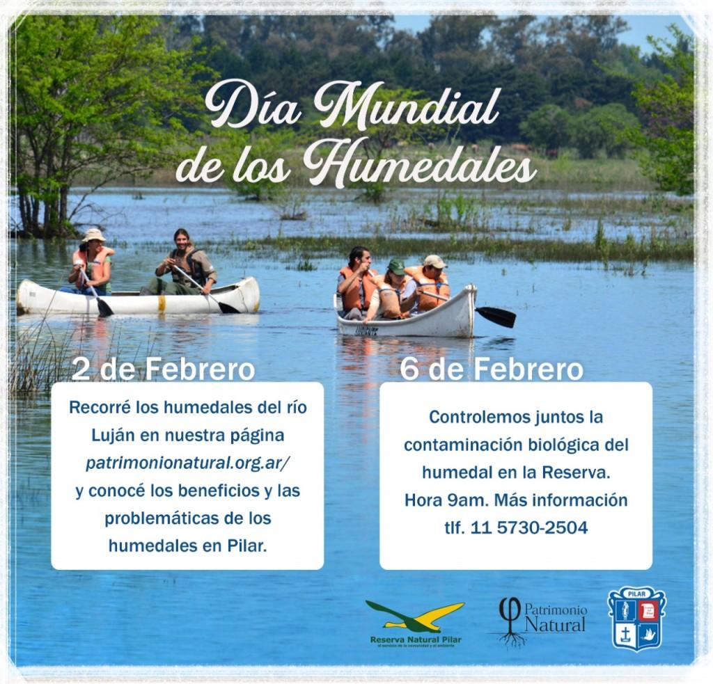 2 de Febrero Humedales: La línea de ribera, frontera entre lo público y lo privado