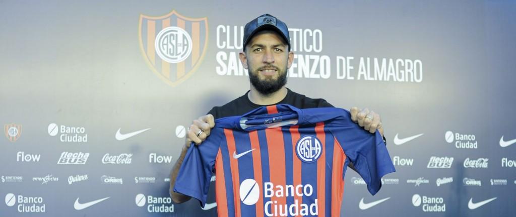Braghieri firmó y ya se entrenó en San Lorenzo