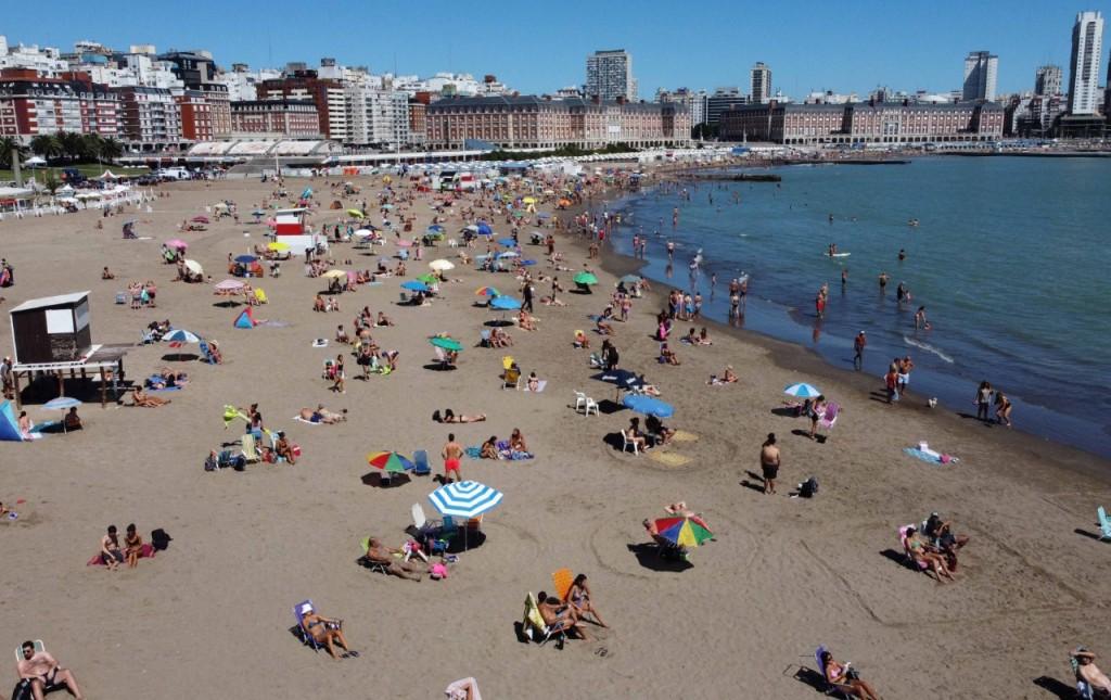 Verano 2021 Mar del Plata: 832.230 turistas arribaron durante enero