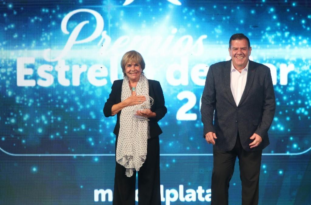 La ceremonia tuvo lugar en Villa Victoria en la entrega de los Premios Estrella de Mar 2021