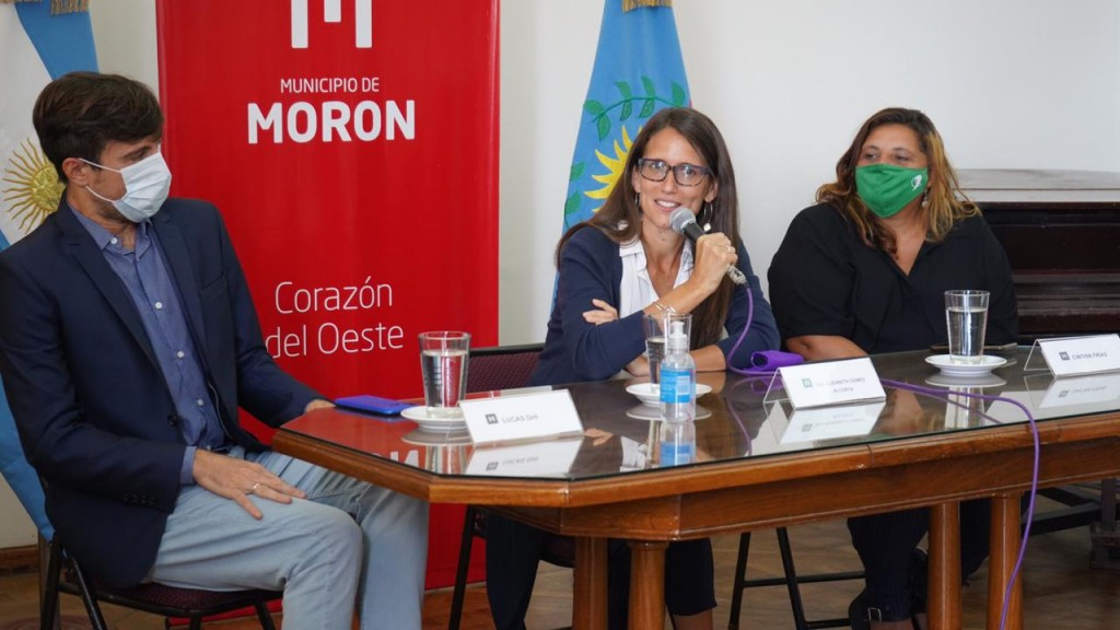 Gómez Alcorta se reunió en Morón con mujeres empresarias