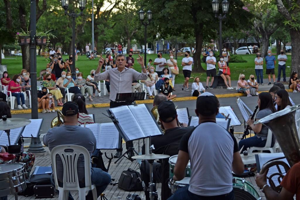 La Banda Municipal ensayará este jueves en la plazoleta del barrio Dálmine Nuevo