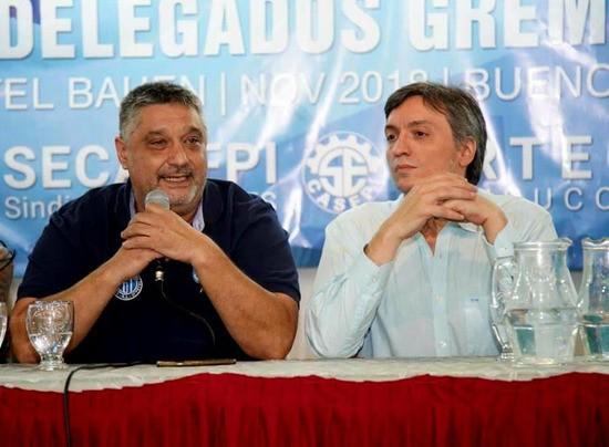 Con Carlos Ortega la Corriente Federal suma un nuevo diputado nacional proveniente del campo gremial