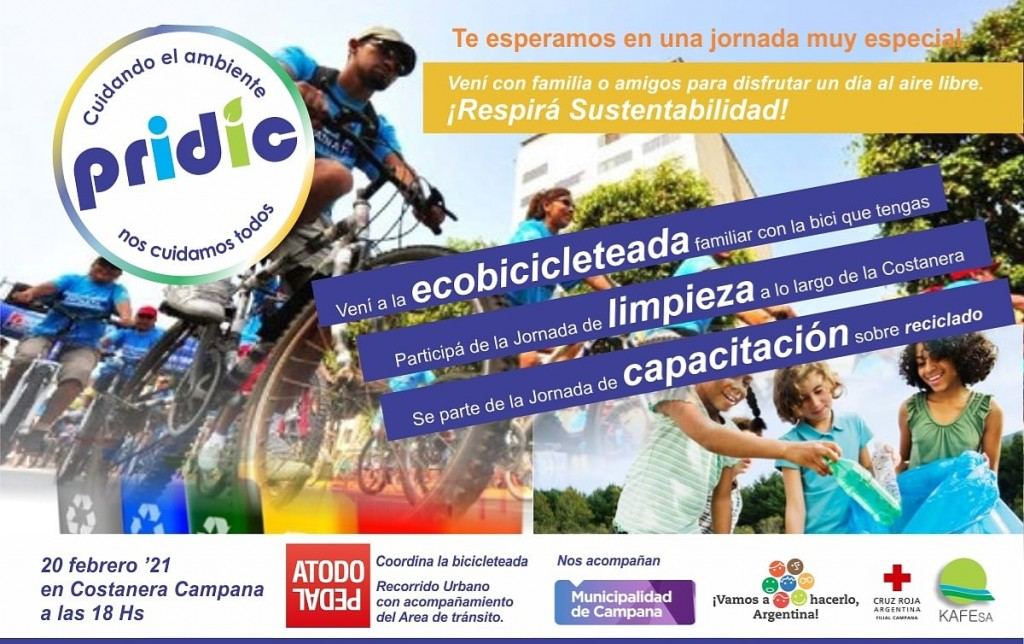 PRIDIC invita a una Jornada Ambiental