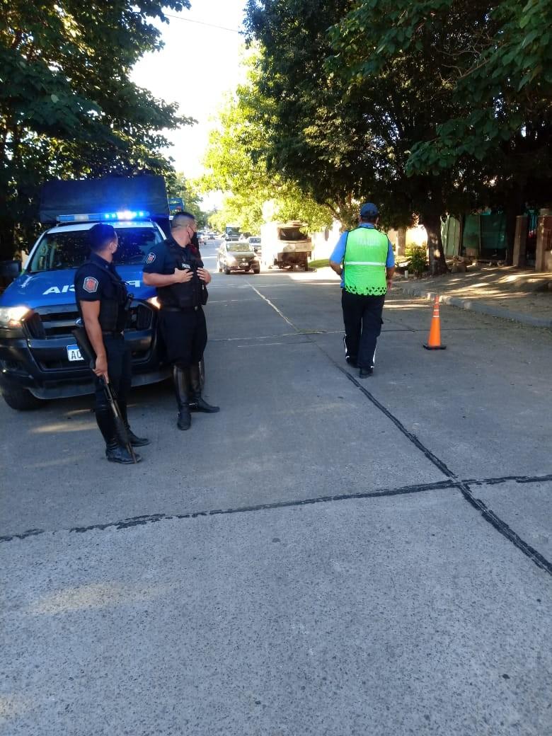 Refuerzan los operativos seguridad en los barrios Del Pino y Urquiza