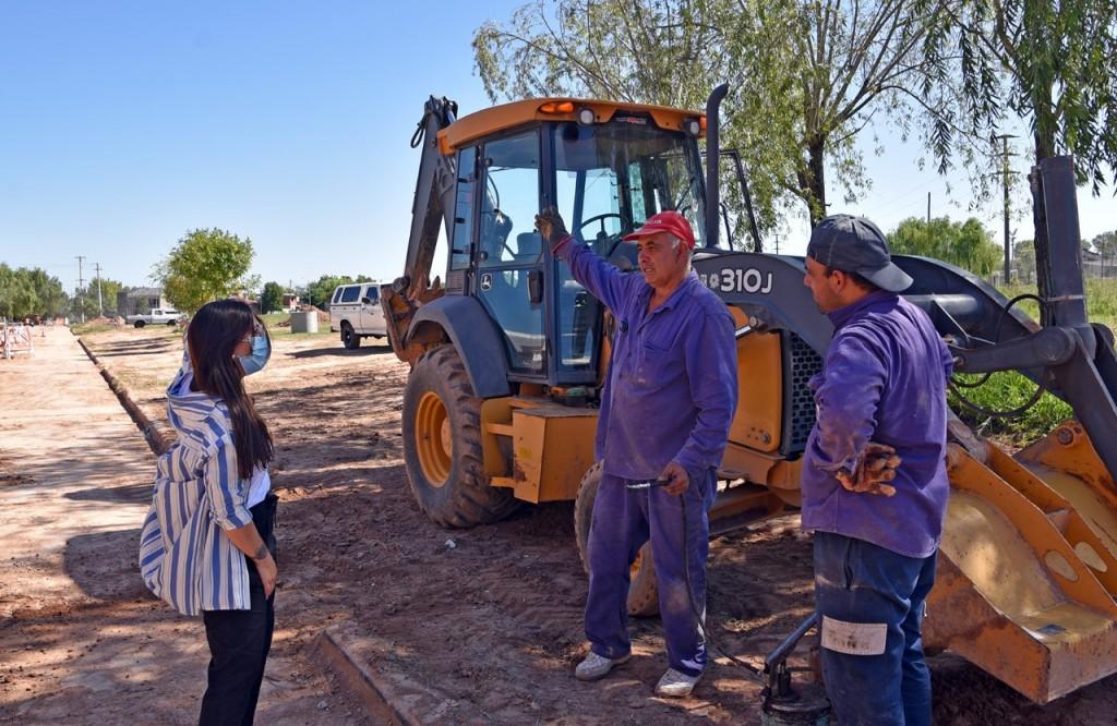Marina Casaretto : A  pesar de la pandemia, se sigue avanzando con obras que transforman la calidad de vida de los vecinos