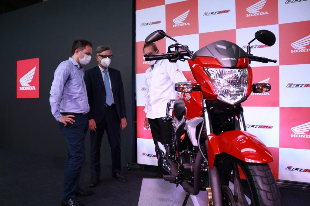Abella destacó que la inversión de Honda genera nuevos empleos y de calidad