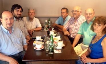 Representantes del PRO y la Coalición Cívica trabajan en una mesa común sobre temas locales
