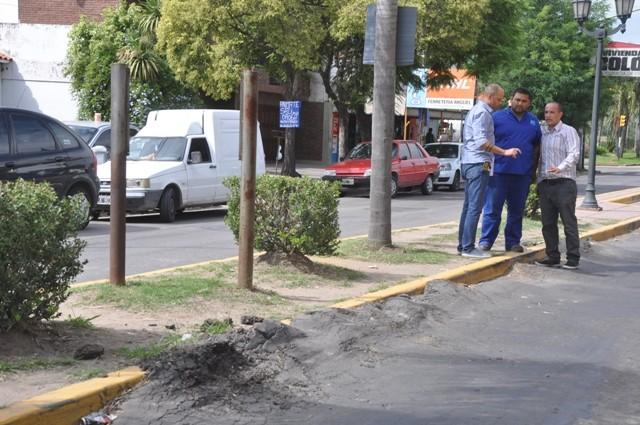 Empiezan a reparar dos de las avenidas más transitadas de la ciudad