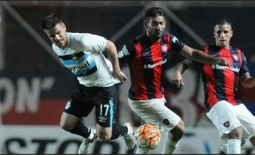 San Lorenzo empató con Gremio de Porto Alegre 1 a 1