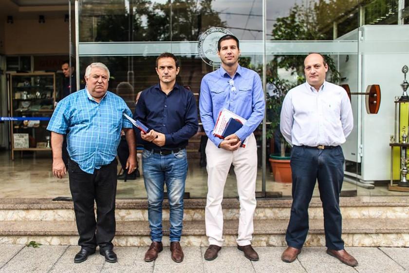 Abella acompañó un importante encuentro provincial de Bomberos Voluntarios
