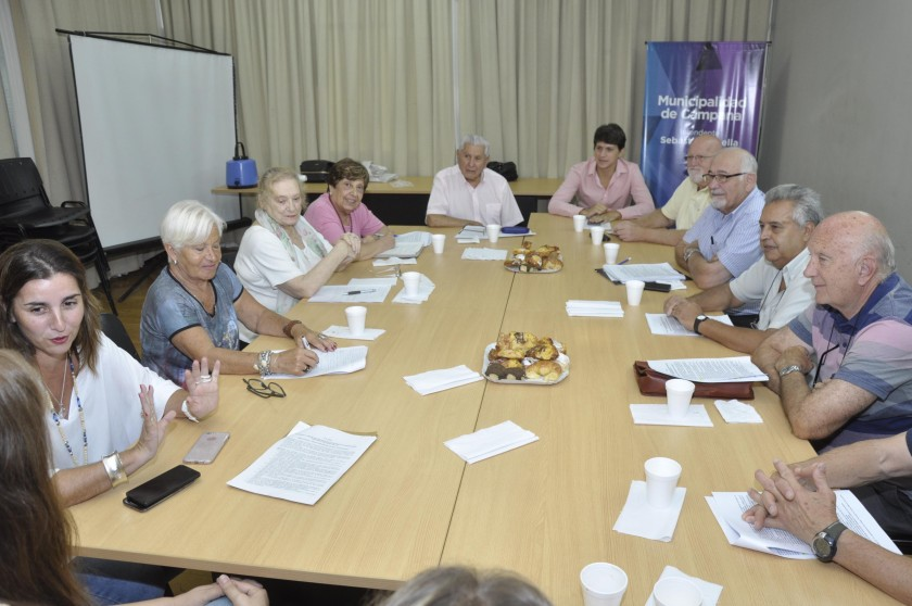 Se realizó la primera reunión para la conformación del Consejo Asesor de Adultos Mayores