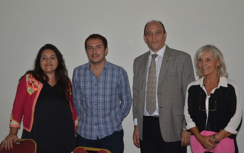 El Intendente firmó un convenio para impulsar el turismo de reuniones y convenciones en la ciudad